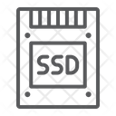 Ssd Solid State Icon