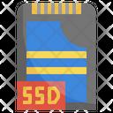 Ssd Ssd Drive Ssd Card Icon