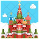 St Basils Cathedral On Red Square Moscow Landmark Icon