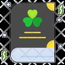 St Patrick Book Icon