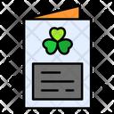St Patrick Invitation Card Invitation Card Icon