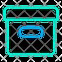 Logistics Package Box Icon