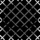 Stack Paper Square Icon