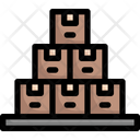 Stack of boxes Icon
