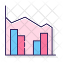 Stacked Area Clustered Column Bar Chart Area Icon