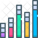 Stacked Column Chart Icon