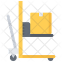 Stacker Box Delivery Icon
