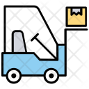Stacker Forklift Lift Icon