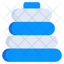 Stacking Rings Icon
