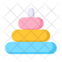 Stacking Rings Rock A Stack Kids Toys Icon