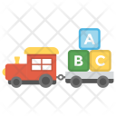 Stacking Train Toddler Icon