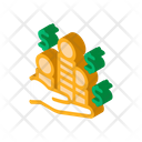 Stacks Gold Coins Icon
