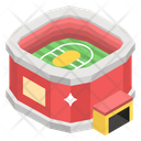 Rugby Pitch Playground Play Area Icon