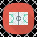 Stadium Game Sport Icon
