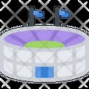 Stadium Sport Football Icon