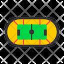 Stadium Football Soccer Icon