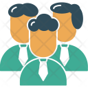 Team Professional Office Icon