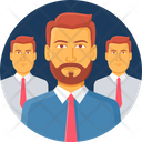 Staff Business Employee Icon