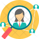 Business Staff Connectivity Icon