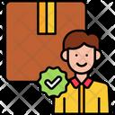 Staff Pick Parcel Icon
