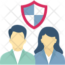 Staff Security Employee Insurance Icon