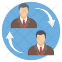 Staff Turnover Icon