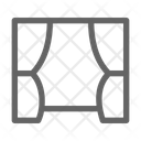 Stage Curtain Circus Icon