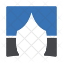 Stage Curtain Show Icon