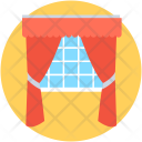 Stage Curtain Window Icon