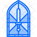 Stained Glass Window Icon