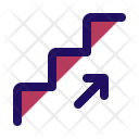 Stair Up Sign Icon