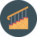 Stair Steps Wooden Icon