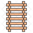 Construction Building Fence Icon