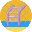 Staircase Stair Case Swimming Pool Icon