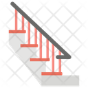 Stairs Steps Staircase Icon