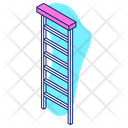 Staircase Stairs Ladder Icon