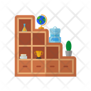 Staircase Cabinets Cupboard Furniture Icon