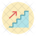 Stairs Sign Steps Icon