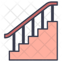Up Stairs Staircase Icon