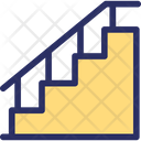 Ladder Staircase Stairs Icon
