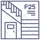 Stairs Staircase Exit Icon