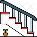 Stairs Interior Steps Icon