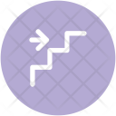 Stairs Arrows Arrow Icon