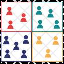 Stakeholder Matrix Enterprise Icon