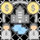 Stakeholder Businessman Shareholder Icon