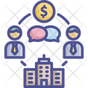 Business Businessman Counterparty Icon