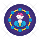 Stakeholders Business Network Business Icon