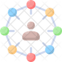 Stakeholders Business Network Icon