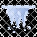 Stalactite Cold Winter Icon