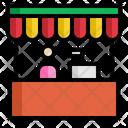 Shop Cashier Market Icon